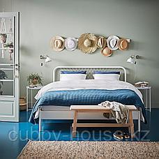 НЕСТТУН Каркас кровати, белый, 140x200 см, фото 3