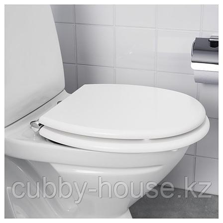 КУЛЛЭРНА Сиденье для унитаза, белый, фото 2