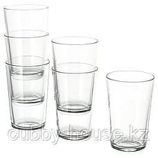 ИКЕА/365+ Стакан, прозрачное стекло, 45 сл, фото 2
