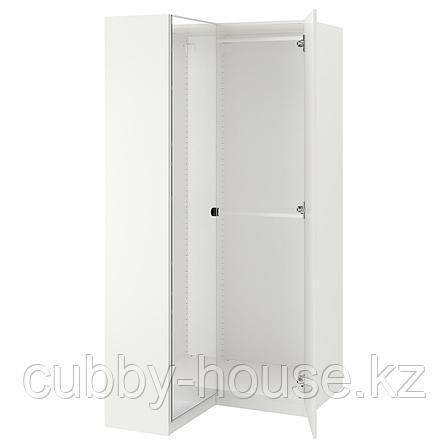 ПАКС Гардероб угловой, белый, Фардаль Викедаль, 111/88x236 см, фото 2
