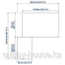 ПАКС Гардероб угловой, белый, Фардаль Викедаль, 111/88x236 см, фото 3