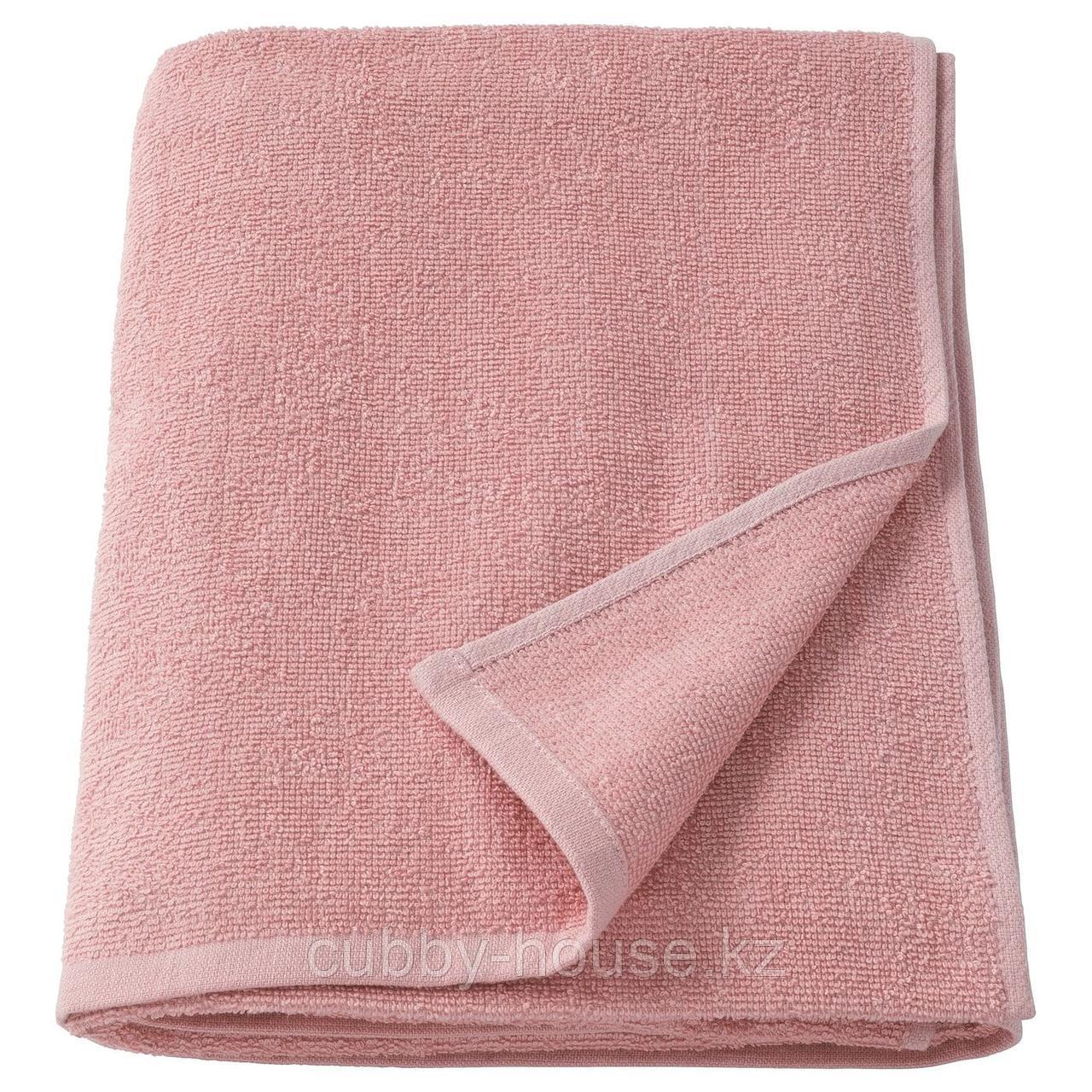КОРНАН Банное полотенце, розовый, 70x140 см