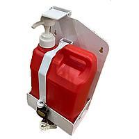 Локтевой дозатор для антисептика металлический 2 литра