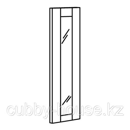 РИДАБУ Зеркальная дверь, белый, 40x120 см, фото 2