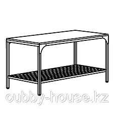 ФЬЕЛЛЬБО Журнальный стол, черный, 90x46 см, фото 3