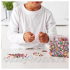 ПЮСЛА Бусины, разные цвета разные цвета, 600 гр, фото 2