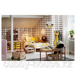 СНИГЛАР Каркас кровати с реечным дном, бук, 70x160 см, фото 2
