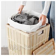 БРАНКИС Корзина для белья с подкладкой, 50 л, фото 3