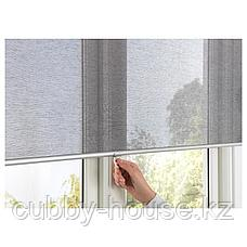 СКОГСКЛЁВЕР Рулонная штора, серый, 100x195 см, фото 3