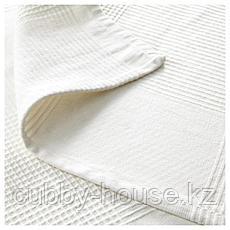 ИНДИРА Покрывало, белый, 230x250 см, фото 3