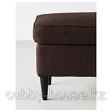 СТРАНДМОН Табурет для ног, Шифтебу коричневый, фото 3