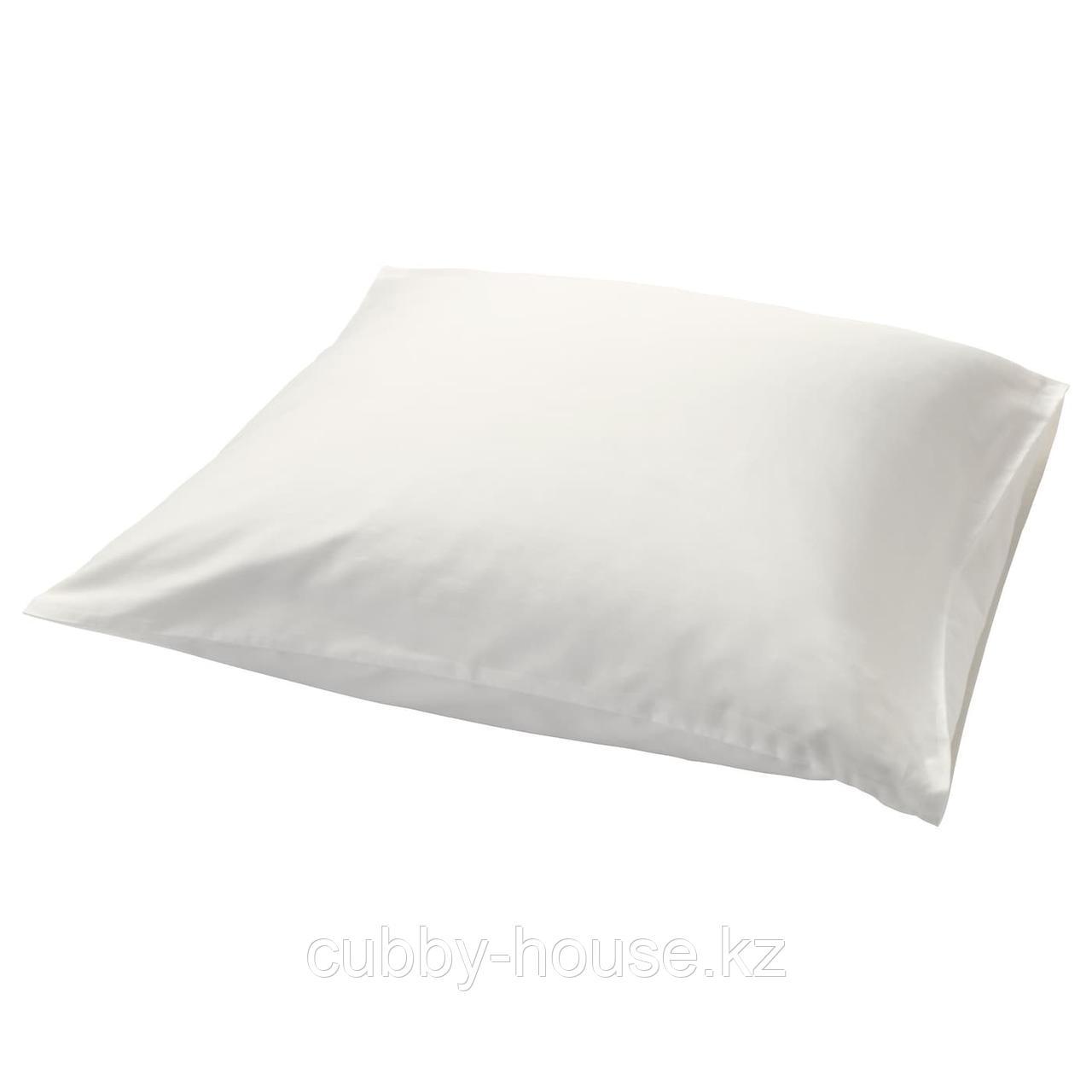 НАТТЭСМИН Наволочка, белый, 50x70 см