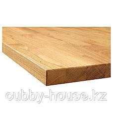 КАРЛБИ Столешница, дуб, шпон, 186x3.8 см, фото 3
