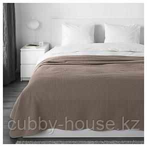 ИНДИРА Покрывало, светло-коричневый, 230x250 см, фото 2