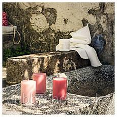 БЛОМДОРФ Формовая свеча, ароматическая, Пион, розовый, 10 см, фото 3