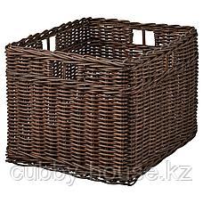 ГАББИГ Корзина, темно-коричневый, 29x38x25 см, фото 2