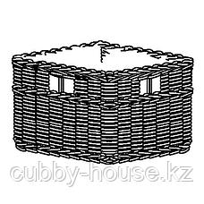 ГАББИГ Корзина, темно-коричневый, 29x38x25 см, фото 3