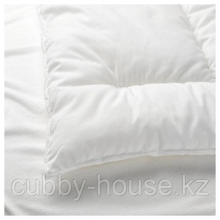 ЛЕН Подушка для детской кроватки, белый, 35x55 см, фото 2
