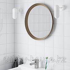 ЛАНГЕСУНД Зеркало, бежевый, 50 см, фото 2