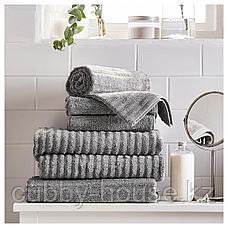 ФЛОДАРЕН Полотенце, серый, 30x50 см, фото 3