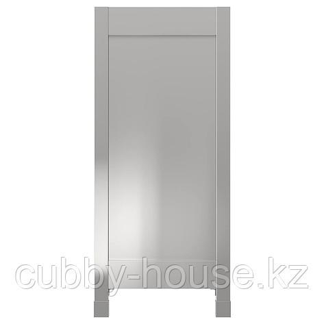 ВОРСТА Накладная панель с ножками, нержавеющ сталь, 62x88 см, фото 2
