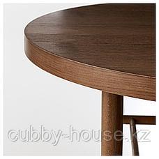 ЛИСТЕРБИ Журнальный стол, коричневый, 90 см, фото 2