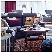 ЛИСТЕРБИ Журнальный стол, коричневый, 90 см, фото 3