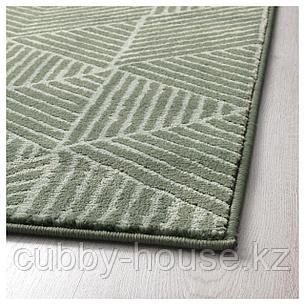 СТЕНЛИЛЛЕ Ковер, короткий ворс, зеленый, 170x240 см, фото 2
