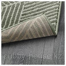 СТЕНЛИЛЛЕ Ковер, короткий ворс, зеленый, 170x240 см, фото 3