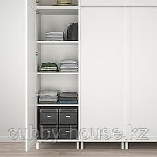 ОПХУС Гардероб с 9 дверями, белый Саннидаль, белый, 300x57x271 см, фото 2