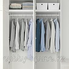 ОПХУС Гардероб с 9 дверями, белый Саннидаль, белый, 300x57x271 см, фото 3