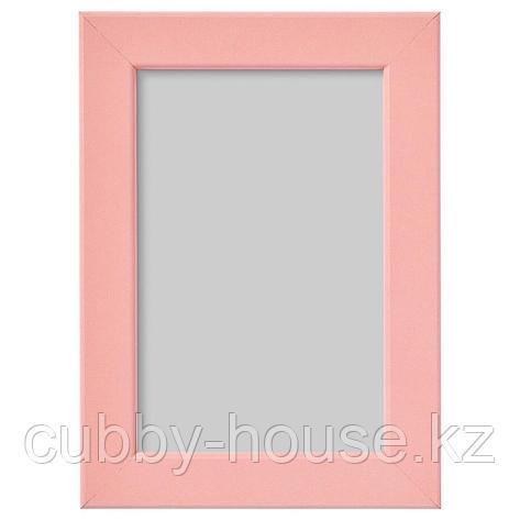 ФИСКБУ Рама, светло-розовый, 13x18 см, фото 2