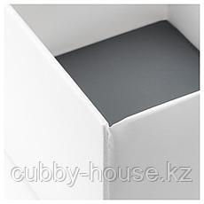 РАССЛА Ящик с отделениями, белый, 25x41x16 см, фото 2