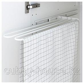 УТРУСТА Штанга для полотенца, белый, 16 см, фото 2