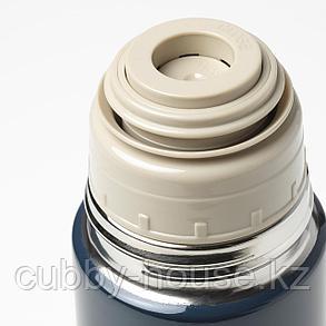 ХЭЛЬСА Стальной термос, синий, 0.5 л, фото 2
