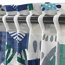 ИРМЕЛИН Гардины, 1 пара, белый, разноцветный, 145x300 см, фото 2