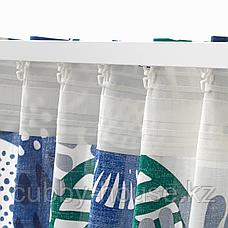ИРМЕЛИН Гардины, 1 пара, белый, разноцветный, 145x300 см, фото 3