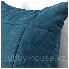 ГУЛЬВЕД Чехол на подушку, темно-синий, 65x65 см, фото 2