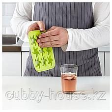 ПЛАСТИС Формочка для льда, зеленый/розовый, бирюзовый, фото 2