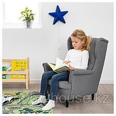 СТРАНДМОН Кресло детское, Висле серый, фото 2