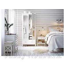 ТИССЕДАЛЬ Каркас кровати, белый, Леирсунд, 160x200 см, фото 2