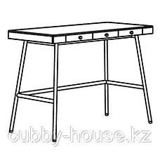 ЛИЛЛОСЕН Письменный стол, бамбук, 102x49 см, фото 2
