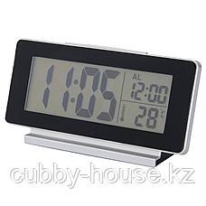 ФИЛЬМИС Часы/термометр/будильник, черный, фото 2