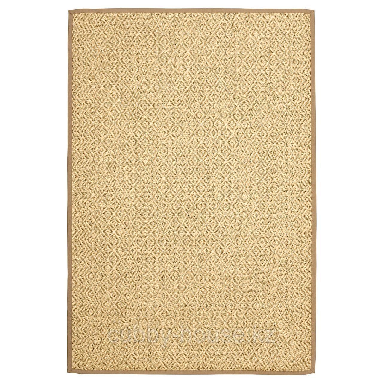 ВИСТОФТ Ковер безворсовый, неокрашенный, 170x240 см