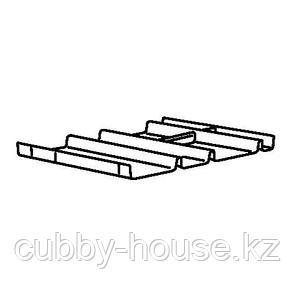 СУММЕРА Вставка в ящик с 6 отделениями, антрацит, 44x37 см, фото 2