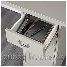 КЛИМПЕН Тумба с ящиками, светло-серый серый, 33x70 см, фото 3