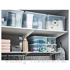 САМЛА Крышка для контейнера 5 л, прозрачный, фото 3
