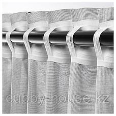 ХАННАЛИЛЛ Гардины, 1 пара, серый, 145x300 см, фото 3