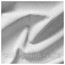 ХАННАЛИЛЛ Гардины, 1 пара, серый, 145x300 см, фото 2