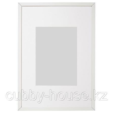 ЛОМВИКЕН Рама, белый, 40x50 см, фото 2